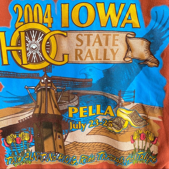 """Motorcycle 2004 state rally """"Pella"""""""